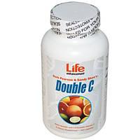 Life Enhancement, Витамин C Двойной C, 180 капсул