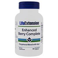 Life Extension, Полный улучшенный комплекс ягодных витаминов с Асаи, 60 капсул
