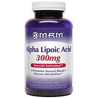 MRM, Альфа-липоевая кислота, 300 мг, 60 вегетарианских таблеток