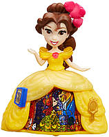 Белль в платье с волшебной юбкой, Маленькое королевство, Disney Princess Hasbro