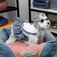Платье для собак Dobaz Добаз, Cute белый