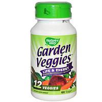 Natures Way, Овощи из сада, 60 капсул в растительной оболочке
