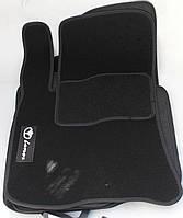 Коврики в салон текстильные Daewoo Lanos 1997- материал Ciak ML черн. вышивка (5шт/комп)