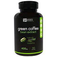 Sports Research, Экстракт Зеленых Бобов Кофе, 400 мг, 90 Желатиновых Капсул
