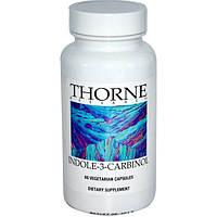 Thorne Research, Индол-3-карбинол, 60 овощных капсул