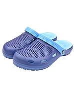 Кроксы мужские синие