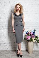 Платье футляр с кружевом 190