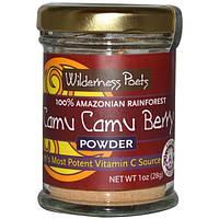 Wilderness Poets, Порошок из ягод камю камю, источник витамина С,1 унция (28 г)