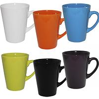 Чашка 370 мл 6 цветов Микс SNT 4163-5