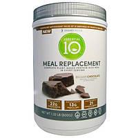 Designer Protein, Эфир 10, заменитель еды, богатая белком еда, бельгийский шоколад, 1,32 фунта (600 г)