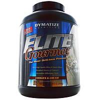 Dymatize Nutrition, Элитный изысканный белок, порошок, печенье и сливки, 5 фунтов (2267 г)