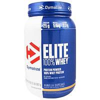 Dymatize Nutrition, Elite, 100-ный Сывороточный Протеин, Ванильный Кекс, 32 унции (907 г)