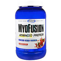 Gaspari Nutrition, MyoFusion, Advanced Protein, Strawberries & Cream, 2 lbs (907 g)