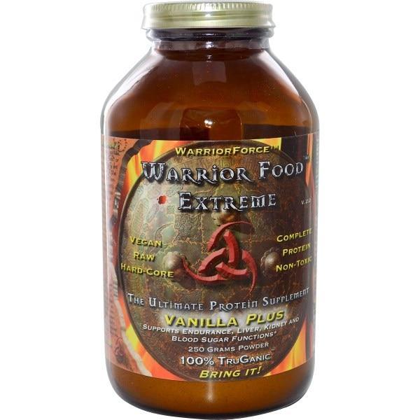 HealthForce Nutritionals, Еда для эктримального воина, максимальная белковая добавка, ваниль, V 2,0, 250 г порошка