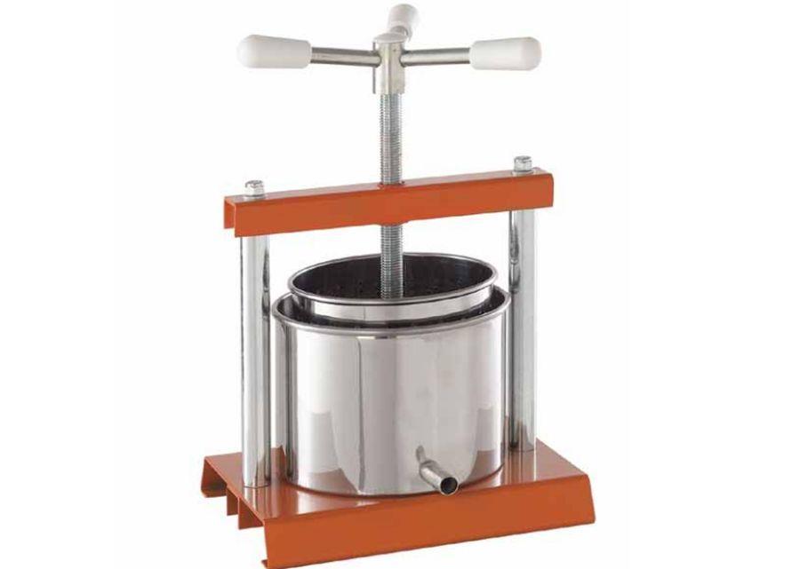OMAC 360 Torchietto бытовая соковыжималка ручной винтовой пресс для сока из яблок, винограда, цитрусов