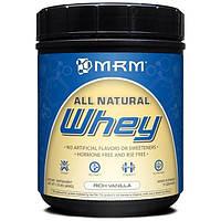 MRM, Сыворотка, полностью натуральная, насыщенная ваниль, 1,01 фунта (458 г)