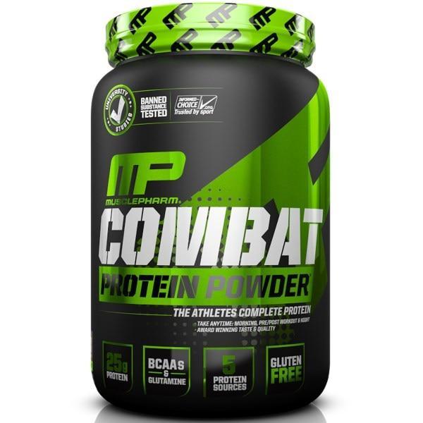 Muscle Pharm, Combat, білок у формі порошку, шоколадне молоко, 32 унції (907 р)