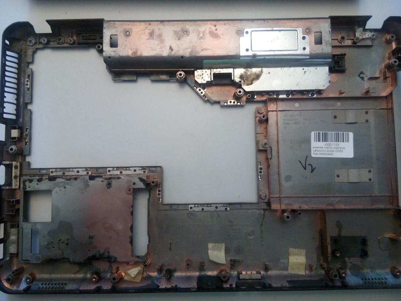 Нижняя часть корпуса LENOVO G550 G555 FA07W000A00