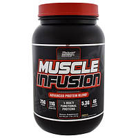 Nutrex Research Labs, Muscle Infusion, Продвинутая протеиновая смесь, ваниль, 2 фунта (907 г)