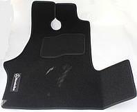 Коврики в салон текстильные Mercedes W638 Vito 1996-2003 материал Ciak черн. вышивка (2шт/комп)
