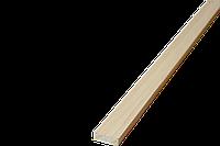 Рейка монтажна (підпоручень) Сосна 10*30*2000мм/зрощ