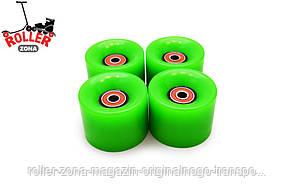Колеса для пенни борда - pennyboard Зеленный