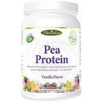 Paradise Herbs, Гороховый белок, ванильный вкус, 15.52 унции (440 г)