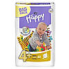 Подгузники Bella Happy Maxi Plus 4+, (9-20 кг) 62 шт