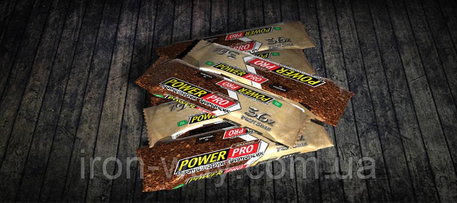PowerPro Protein Bar 36% 60 g (Мокачино)