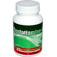 Benfotiamine Inc., Бенфотиамин-V, 150 мг, 120 капсул