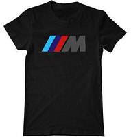 """Мужская футболка """"BMW М"""" (разные цвета)"""