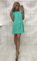 Платье женское с бенгалина  Angel , мята ! , фото 1