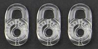 Амбушюры (силиконовые накладки) для гарнитур plantronics комплект 3шт. одного размера