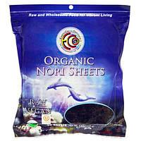 Earth Circle Organics, Органические нори для суши, холодная обработка, 50 листов