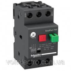 GZ1E02 Автоматический выключатель EasyPact TVS защиты электродвигателей 0.06кВт, 0.16-0.25А
