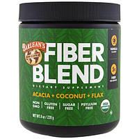 Barleans, Organic Fiber Blend, Vanilla Flavor, 8 oz (228 g)