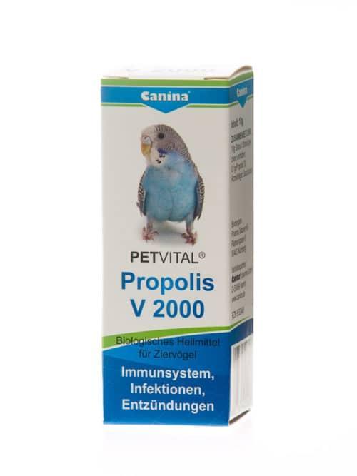 Кормовая добавка Canina Petvital V2000 Propolis для укрепления иммунитета птиц, 10 г  - Интернет-зоомагазин Royal Zoo в Харькове