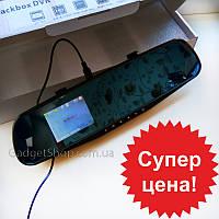Регистратор зеркало DVR 138, видеорегистратор, камера, компактный