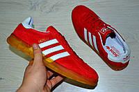 Кроссовки мужские Adidas Gazelle красные 2304