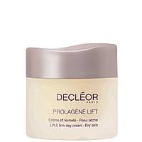 Крем антивозрастной лифтинговый для сухой кожи, 50 мл/ Decleor Prolagene Lift  Crème lift fermeté Peau sèche