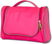 Дорожный органайзер для косметики Premium, розовый