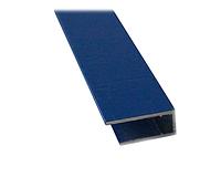 Алюмінієвий торцевий профіль АПТ - 10 мм ТМ SOLIDPROF (бронзовий, анодований) / Алюминиевый торцевой профиль.