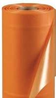 Пленка полиэтиленовая светостабилизированная тепличная 24 месяца оранжевая (рукав 80мкм) (3*50м)