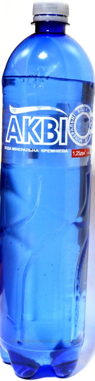 """Минеральная лечебно - столовая вода """"Акві""""  1.5 л."""