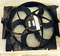 Вентилятор радиатора 6 лопастей с моторчиком в сборе с диффузором Bmw 3 E90 320d 16326937515  16.32-6937515