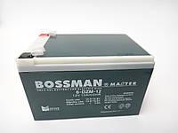 Аккумулятор 12v 12ah BOSSMAN Gel (6 DZM 12)