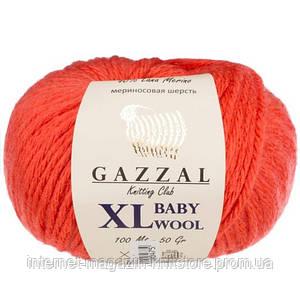 Пряжа Gazzal Baby Wool XL Червоний