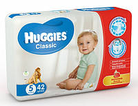 Подгузники HUGGIES classic 5 (11-25 кг) 42