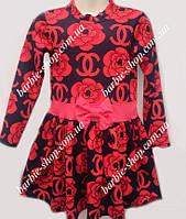 Красивое детское платье Шанелька 0118