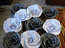 3D паперові квіти, коробки для упаковки подарунків, гірлянди, для оформлення свята, фотозони